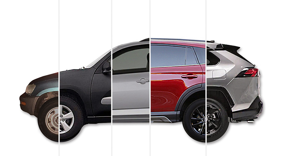 Toyota RAV4 history - From concept carto a best-selling vehicle, how the compact crossover has evolved.